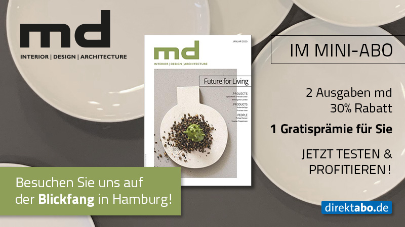 md blickfang HH internationale Designmesse